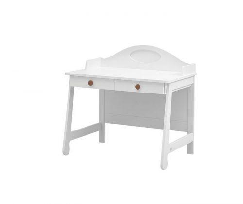 Biurko dla dzieci i młodzieży Parole Pinio Biały brązowy