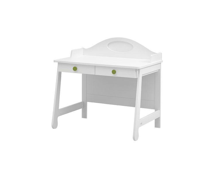 Biurko dla dzieci i młodzieży Parole Pinio Biały zielony