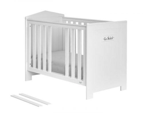 Łóżeczko niemowlęce 120x60 z MDF kolekcja Marsylia Pinio