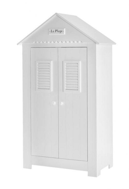 Pinio Szafa 2-drzwiowa MDF kolekcja Marsylia - biała