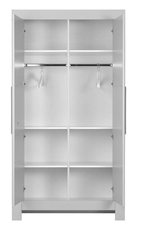 Pinio Calmo MDF dodatkowa półka pasująca do szafy 2-drzwiowej i 3-drzwiowej Szary