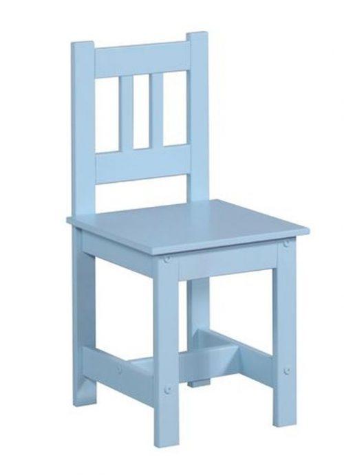 Krzesełko dla dziecka meble Pinio Junior niebieski