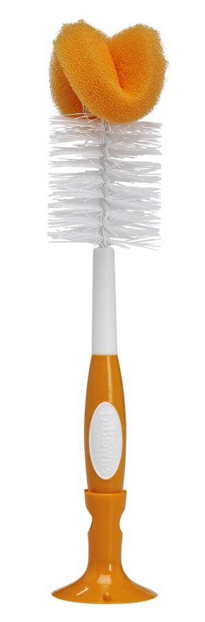 Dr Browns szczotka do czyszczenia butelek 4 kolory Pomarańczowy
