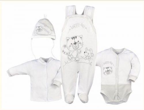 Cztero elementowa wyprawka dla niemowląt Koala Baby 68 Paski