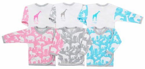 Koala Baby koszulka bawełniane afryka  62 Niebieski