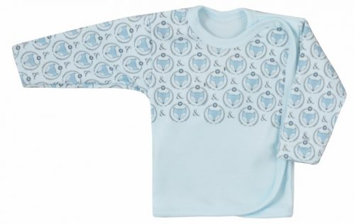 Koala Baby koszulka bawełniane lisek 68 Niebieski