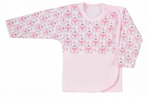 Koala Baby koszulka bawełniane lisek 68 Różówy