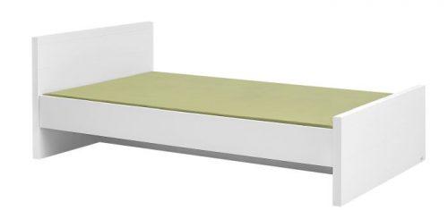 Łóżko z kolekcji Lara 120x200 cm białe meble Pinio