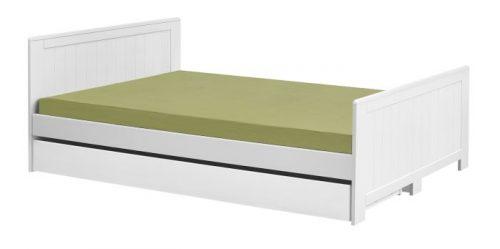 Łóżko białe Blanco 140x200 cm  firmy Pinio