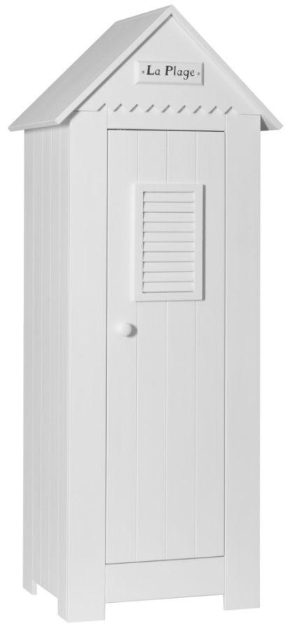 Wąska szafa dziecięca jedno drzwiowa Marsylia Pinio