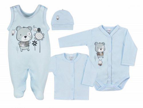 Koala baby wyprawka 4 cz.darling 68 Niebieski