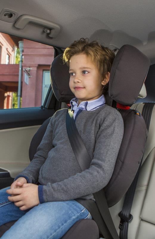 Innowacyjny fotelik samochodowy BeSafe iZi Isofix 15-36 kg - obracający się przy zderzeniu bocznym