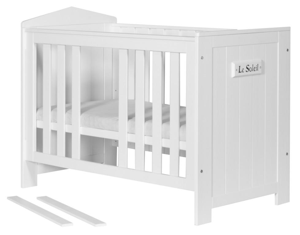 Łóżeczko niemowlęce 120x60 kolekcja Marsylia Pinio