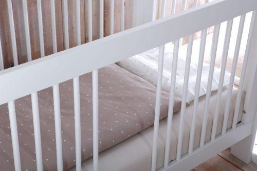 Łóżeczko niemowlęce 120x60 Basic Pinio
