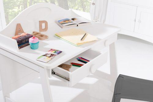 Biurko dla dzieci i młodzieży Parole Pinio Biały