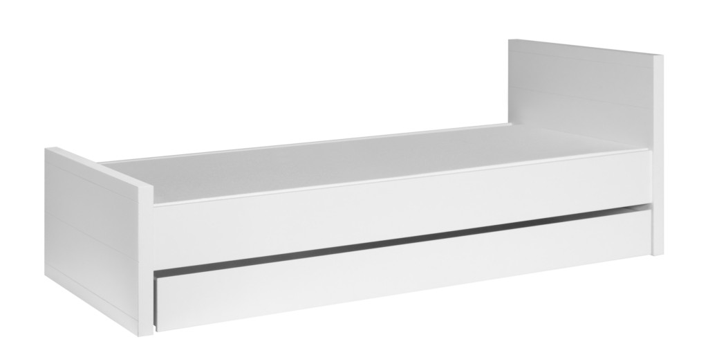 Łóżko 200x90 młodzieżowe opcja szuflada Lara Pinio