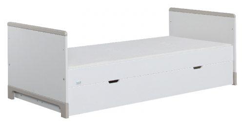 Tapczanik młodzieżowy 160x70 Mini Pinio Biały szary