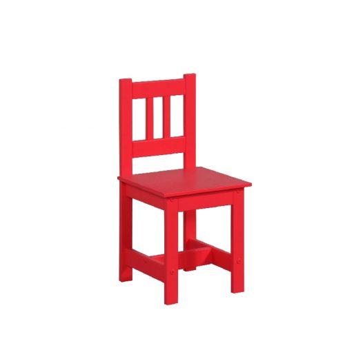 Krzesełko dla dziecka meble Pinio Junior czerwony