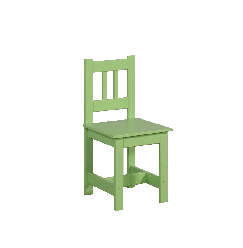 Krzesełko dla dziecka meble Pinio Junior zielony