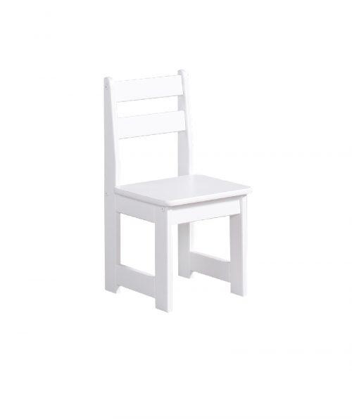 Krzesełko dla dziecka Pinio zestaw maluch Biały