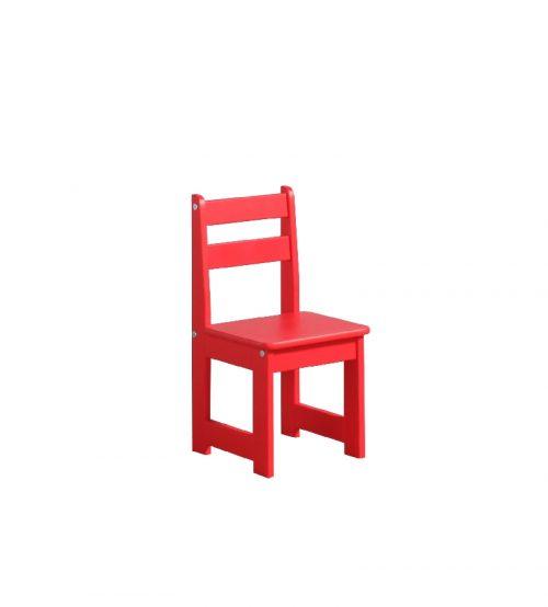 Krzesełko dla dziecka Pinio zestaw maluch Czerwony