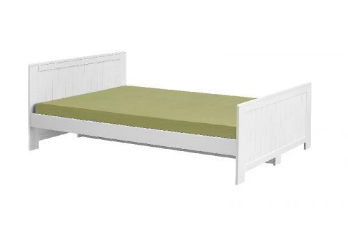 Łóżko 200x90 duże młodzieżowe Blanco Pinio