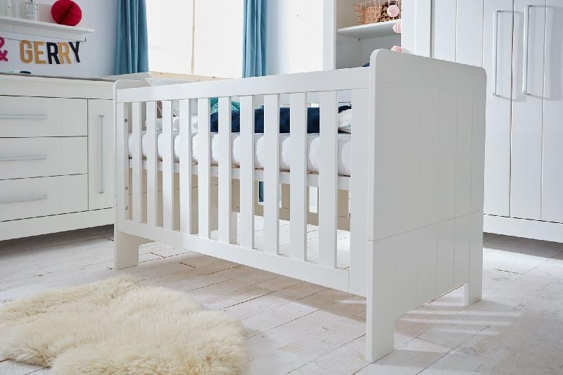 Pinio Calmo MDF łóżeczko 120x60 Szary