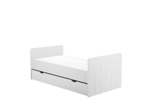 Pinio Calmo MDF szuflada do  łóżeczka-tapczaniku 140x70 Biały