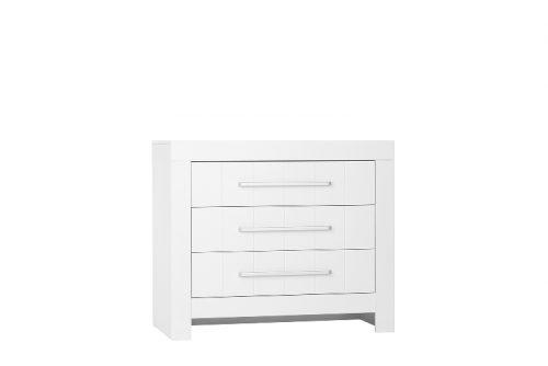 Pinio Calmo MDF komoda 3-szufladowa Biały