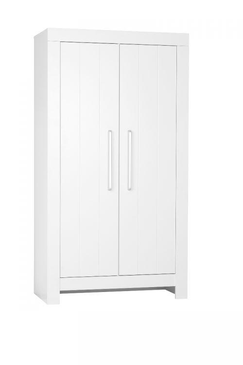 Pinio Calmo MDF szafa 2 drzwiowa Biały