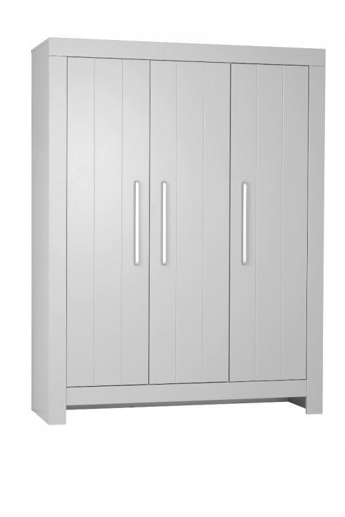 Pinio Calmo MDF szafa 3-drzwiowa Biały
