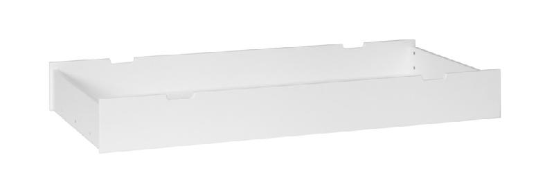 Szuflada do łóżeczek 160x70 Pinio biała