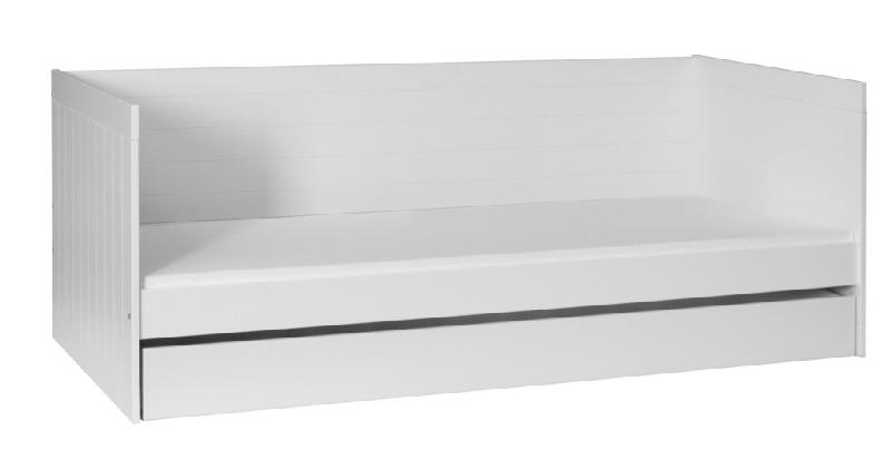 Łóżko Royal 200x90 dla dzieci i młodzieży Pinio białe