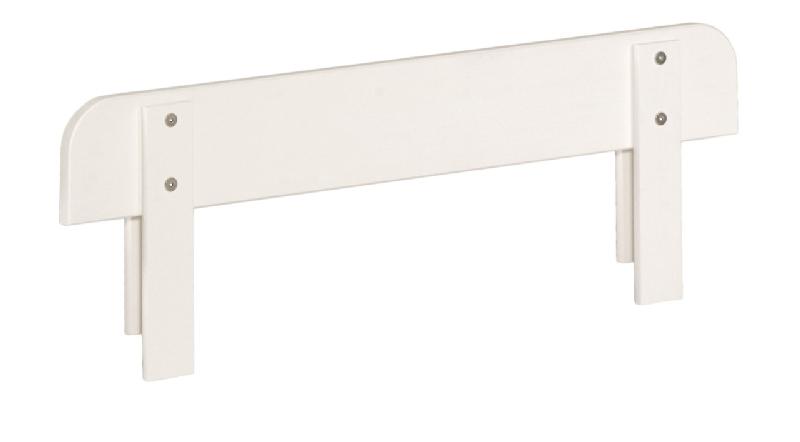 Barierka duża do łóżek 200x90 blanco Royal MIni Pinio białe