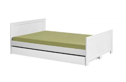 Szuflada do łóżka białe Blanco 120x200 lub140x200 cm firmy Pinio