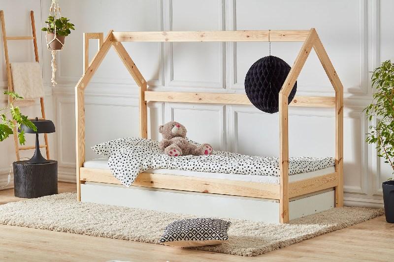 Pinio łóżko domek 200x90 cm