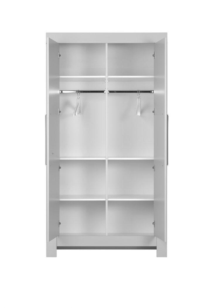 Pinio dodatkowa półka do szafy 2-drzwiowej szary Calmo