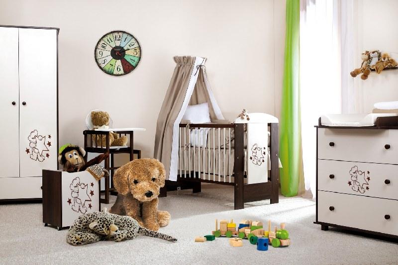 Biurko dla dziecka Miś z gwiazdkami Klupś