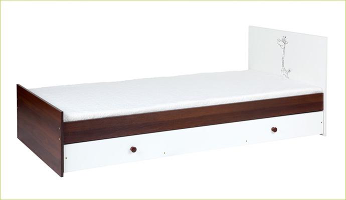 Młodzieżowe łóżko 200x90 Miś z gwiazdkami Klupś