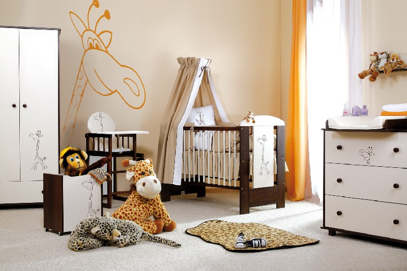 Biurko dziecięce Klupś Safari Żyrafka 76,5x120x60
