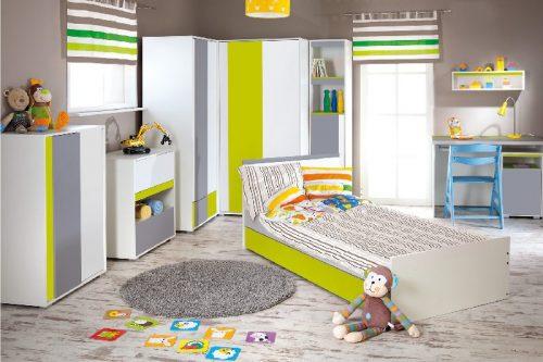 Młodzieżowe łóżko 200x90 Irene Lime Klupś