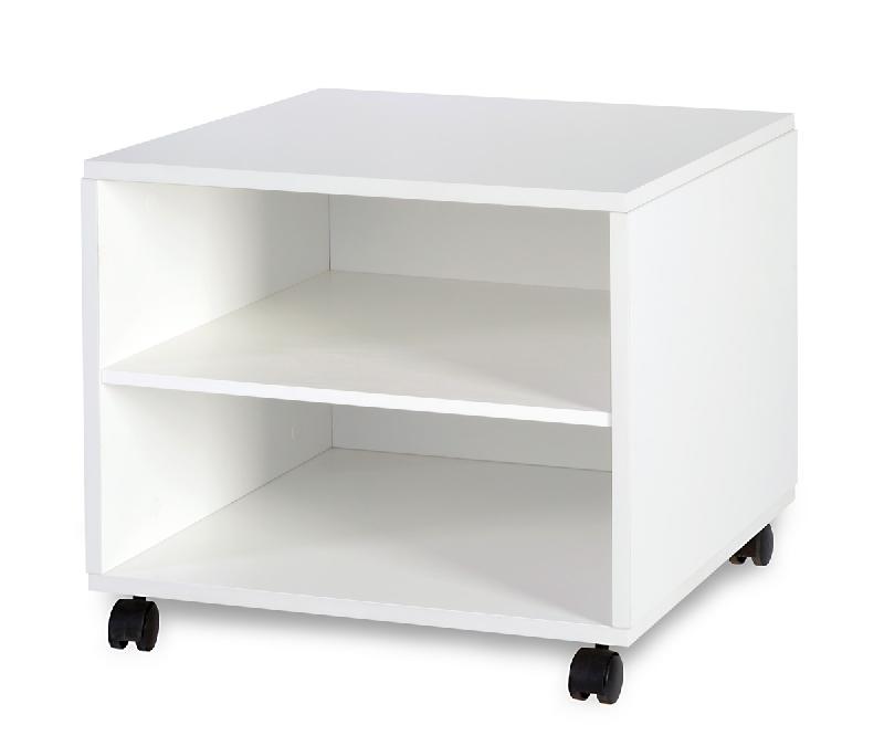 Stolik na kółkach Top Paris Biały 50x50x50 Klupś