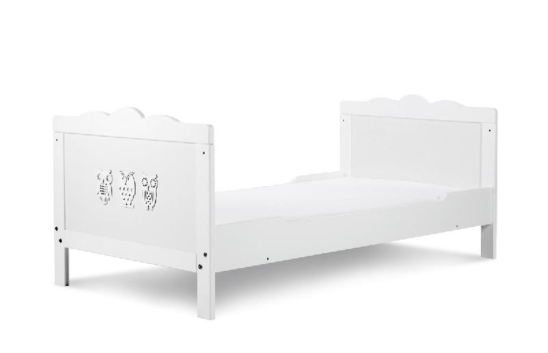 Tapczanik Marsell 140x70 cm w białym kolorze, Klupś