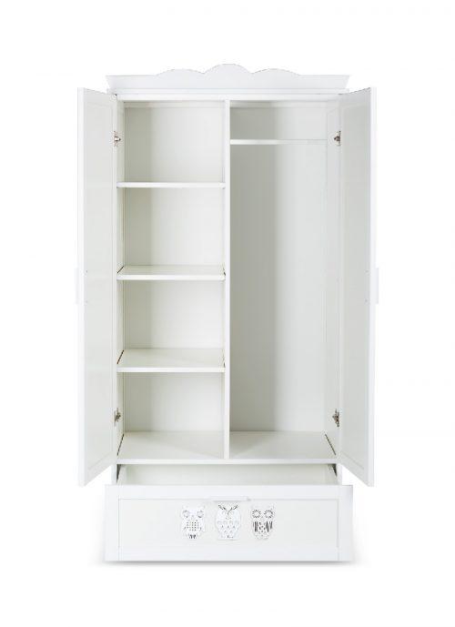 Szafa dwudrzwiowa Marsell kolor Biały Klupś173x84x53