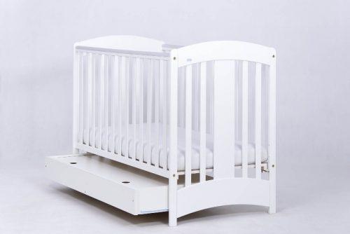 Łóżeczko 120x60 z szufladą Natalia, Drewex białe