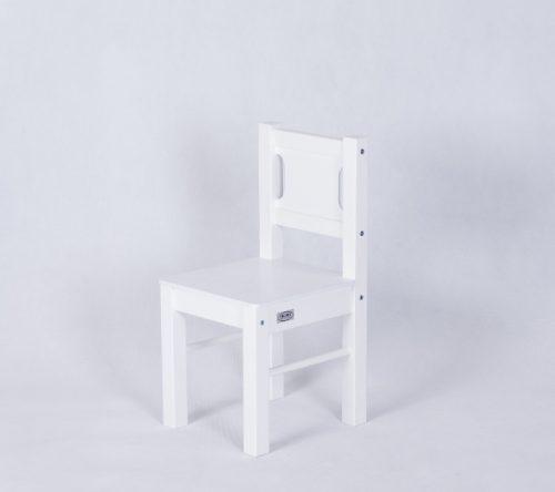 Drewex 2 krzesełka białe