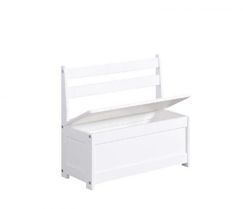 Ławo-skrzynia dla dziecka Pinio Biały