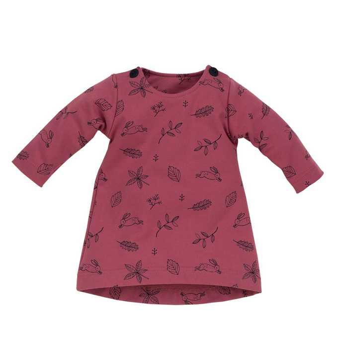 Sukienka z długim rękawem Colette Pinokio 74 Ciemny różowy