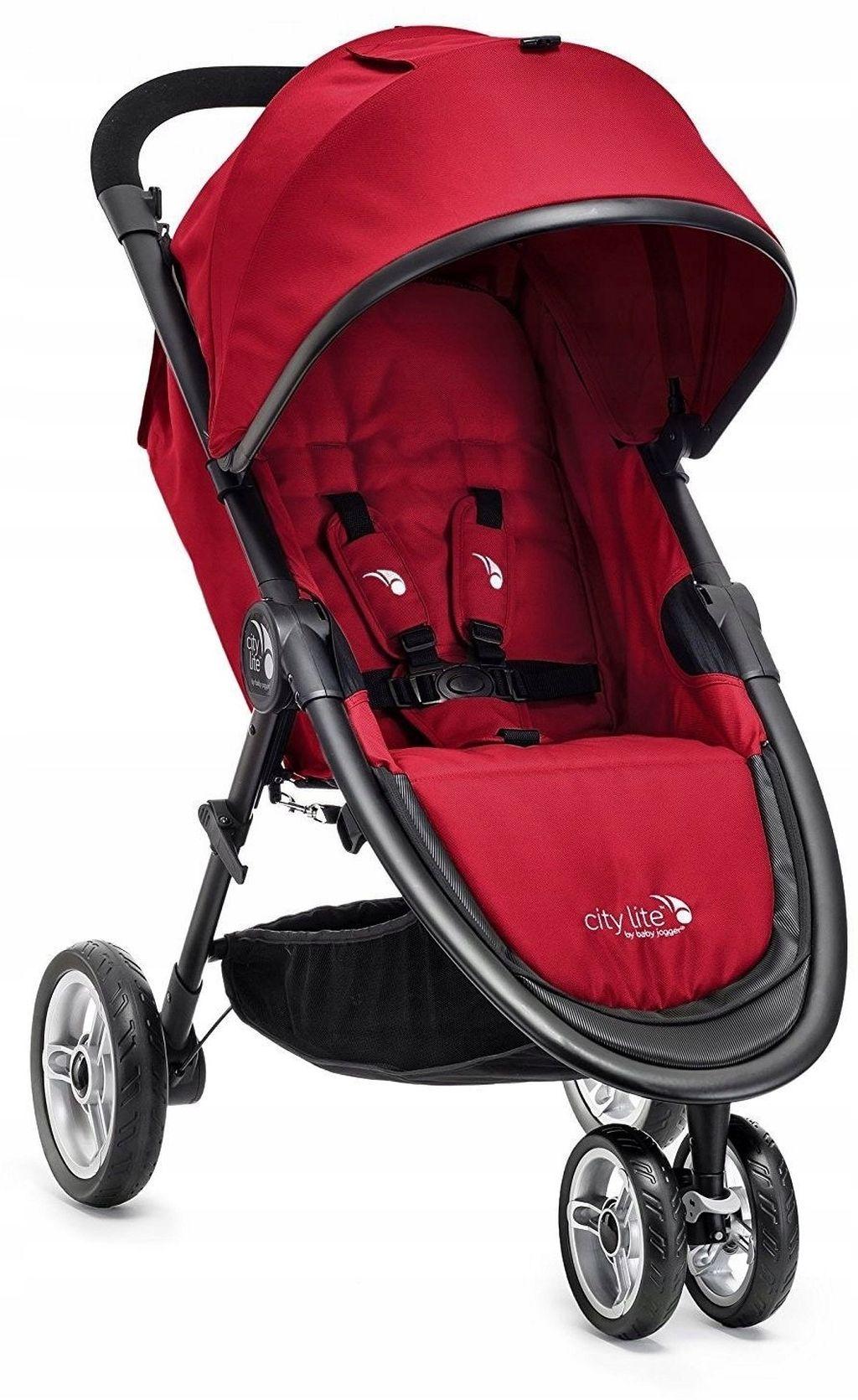 Kompaktowy miejski wózek spacerowy City Lite firmy Baby Jogger