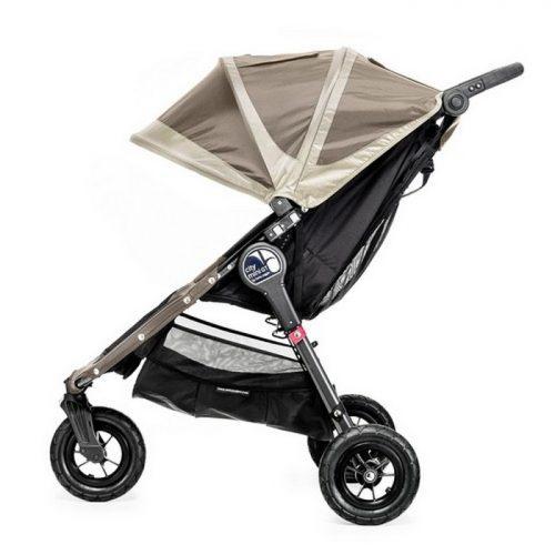 Kompaktowy lekki wózek spacerowy City Mini GT Baby Jogger - koła pompowane